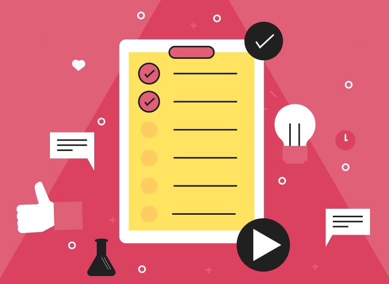 checkliste wichtigster content